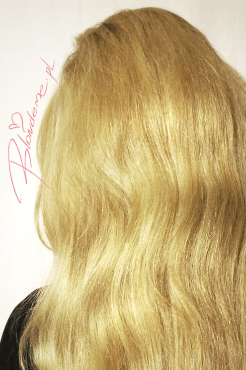 Blond wlosy farbowane dlugie blog