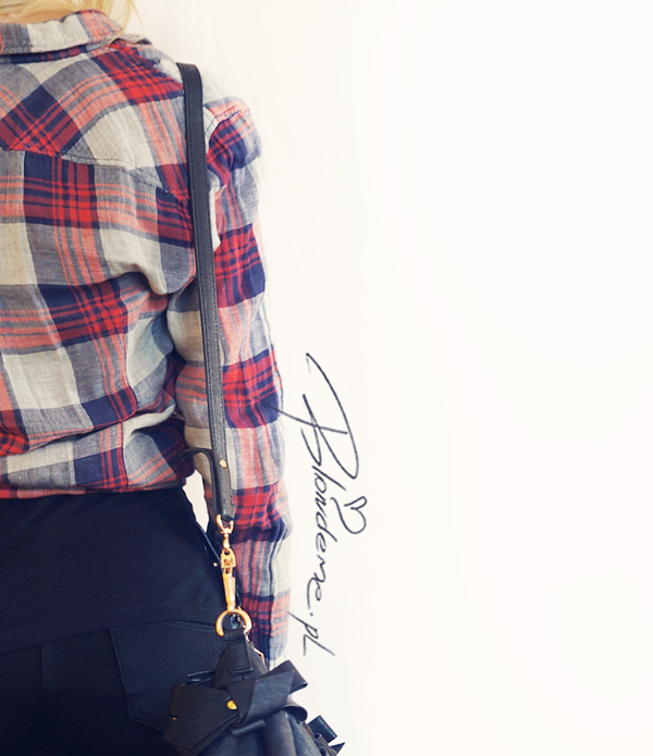 stylizacje-koszula-kratke-rurki-czarne