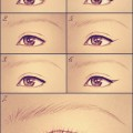Jak zrobic kreske eyelinerem blog makijaz