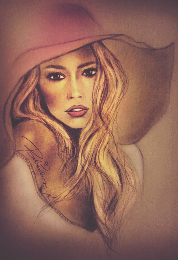 blondynka-rozowy-kapelusz-blog