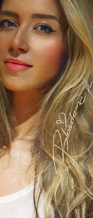Blog makijaz prosty dla blondynki