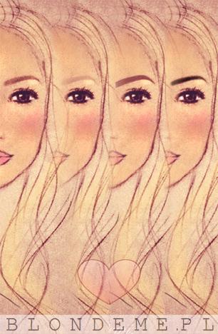 Jak malowac brwi blondynki blog