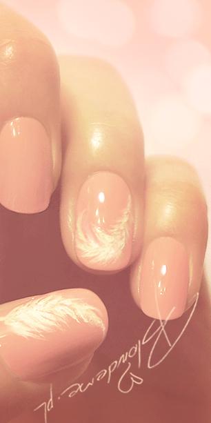 Malowanie paznokci rozowe wzorki blog