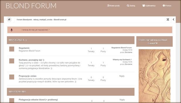 blond-forum-strona-glowna