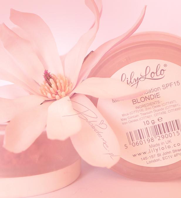Podklad mineralny Lily Lolo blog makijaz