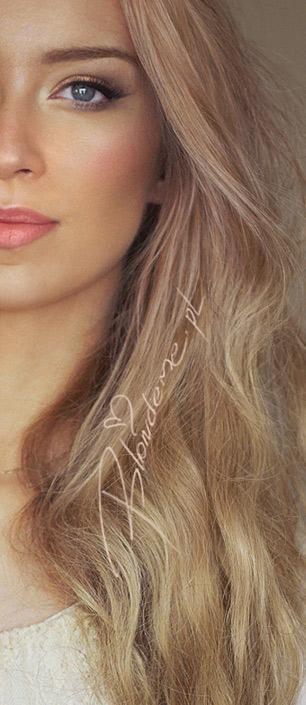 Makijaz slubny wieczorowy blondynki blog