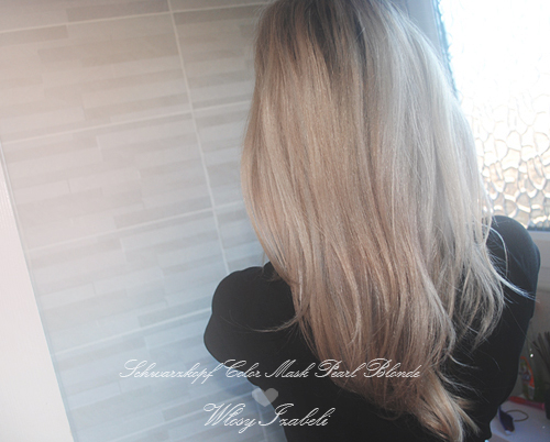 Perlowy blond Color Mask 910 efekty blog
