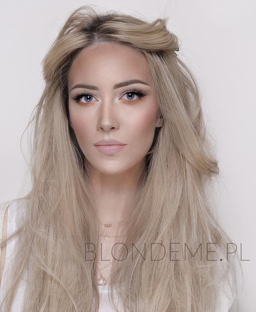 Makijaz dla niebieskich oczu blond blog