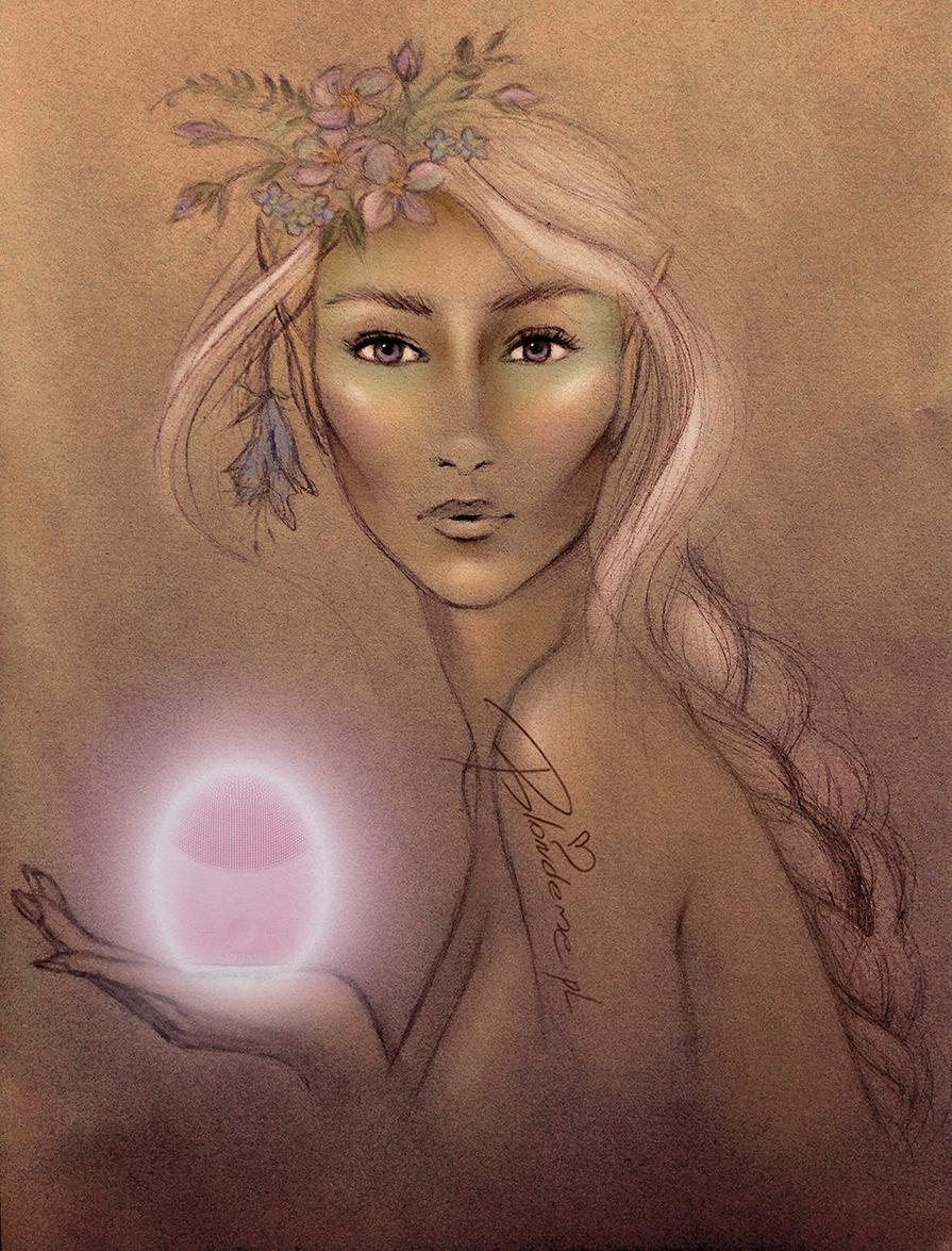 Szczoteczka soniczna Foreo Luna 2 blog Blondeme